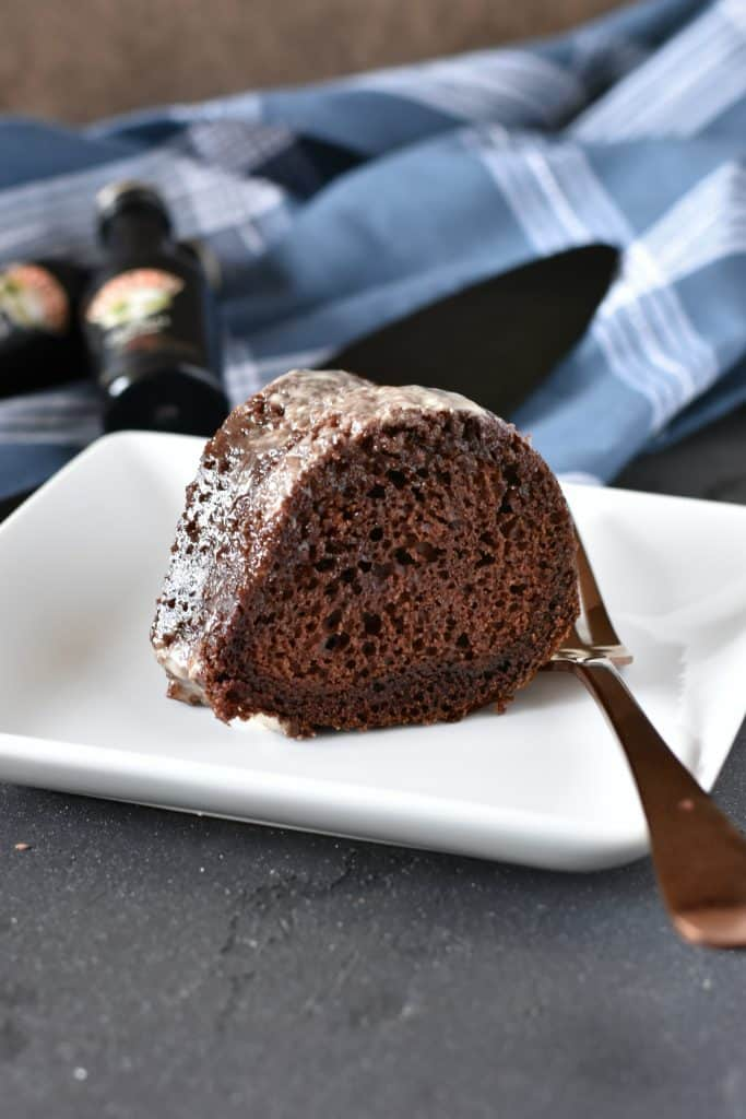 Traditional Irish dessert- Bailey's Chocolate Cake