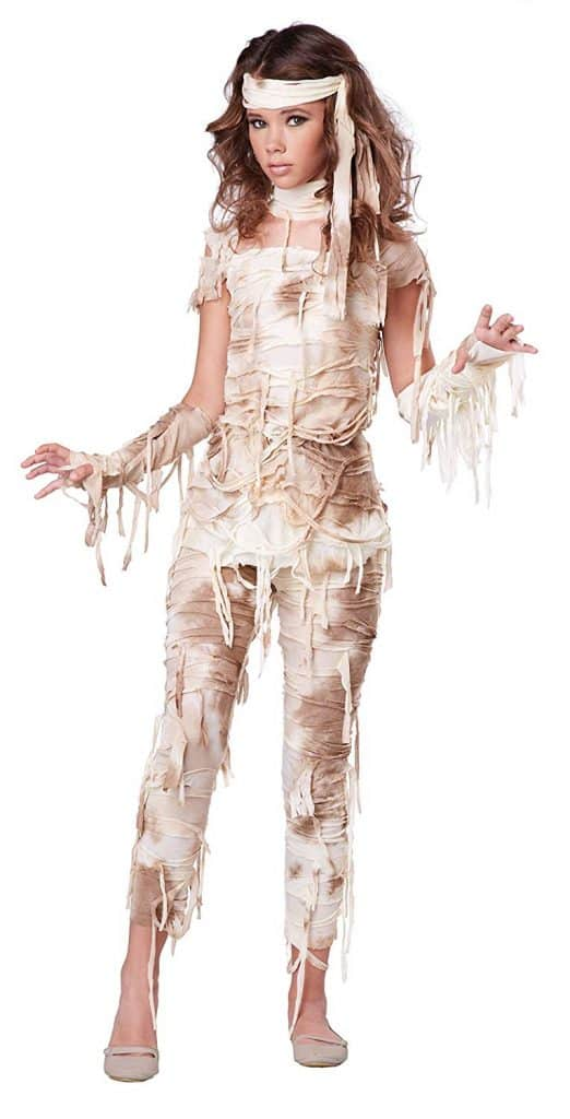 Tween Girl Mummy Costume