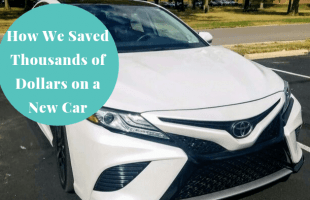 Saving on a new car