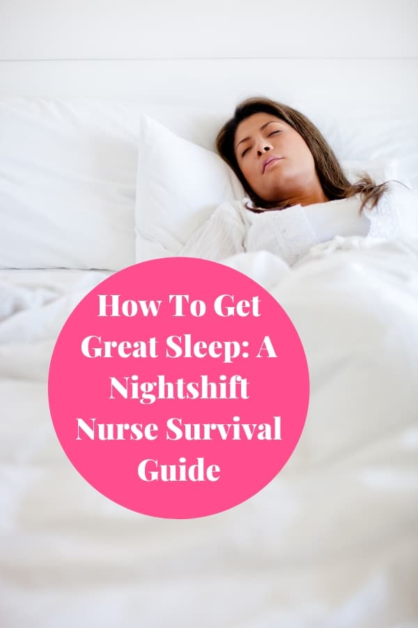 Sleep Tips for Nightshift Workers