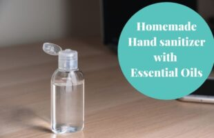 Homemade Hand sanitizer with Essential Oils DIY