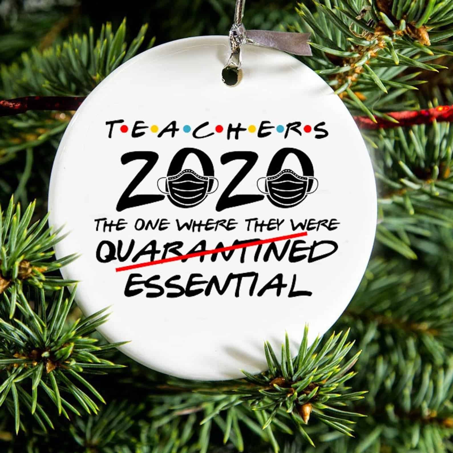 Personalized Family Ornament Pandemic