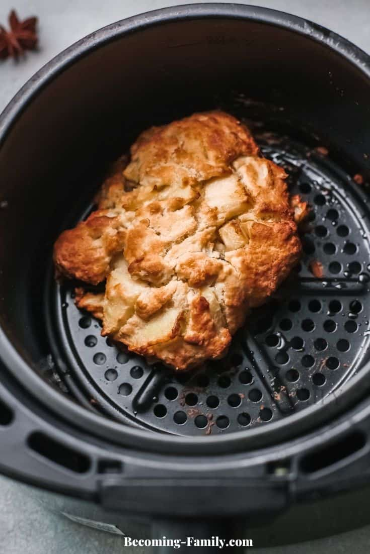 Apple Fritters in air fryer