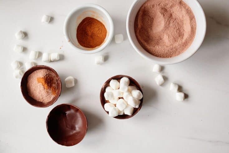 Pumpkin Spice Hot Chocolate Bomb Recipe